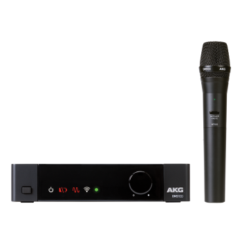 AKG DMS100M 2.4 GHz Digital Handheld Wireless Microphone System