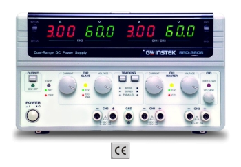 GW INSTEK  SPD-3606  Multiple Output Dual Range D.C. Power Supply